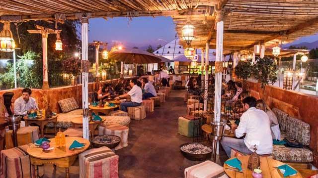 Zanzíbarrestaurantes con terraza santiago