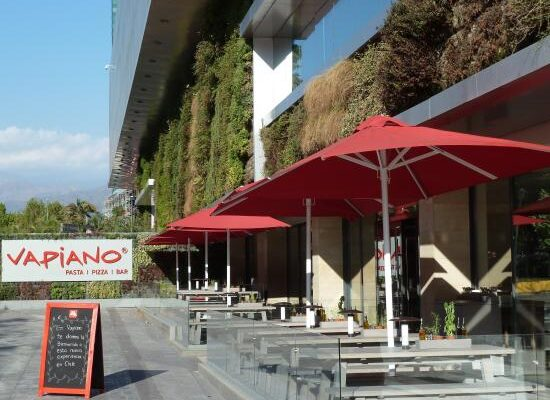 Vapiano Parque Arauco mejores restaurantes