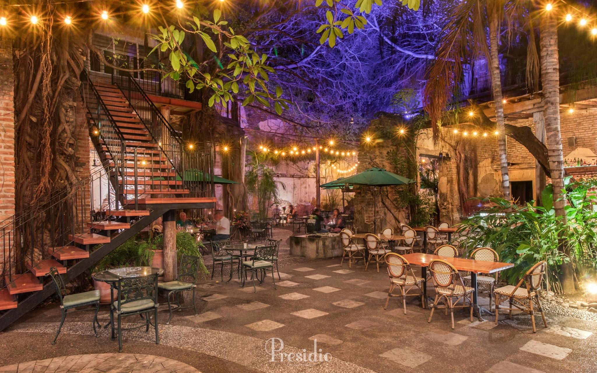 El Presidio restaurantes romanticos en mazatlan