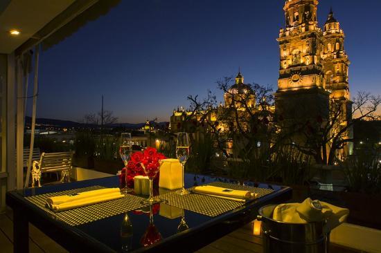 La azotea - restaurantes romanticos en morelia