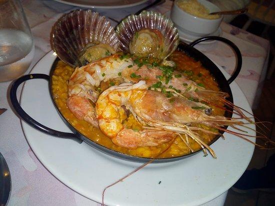 Restaurante Mediterráneo mar del plata